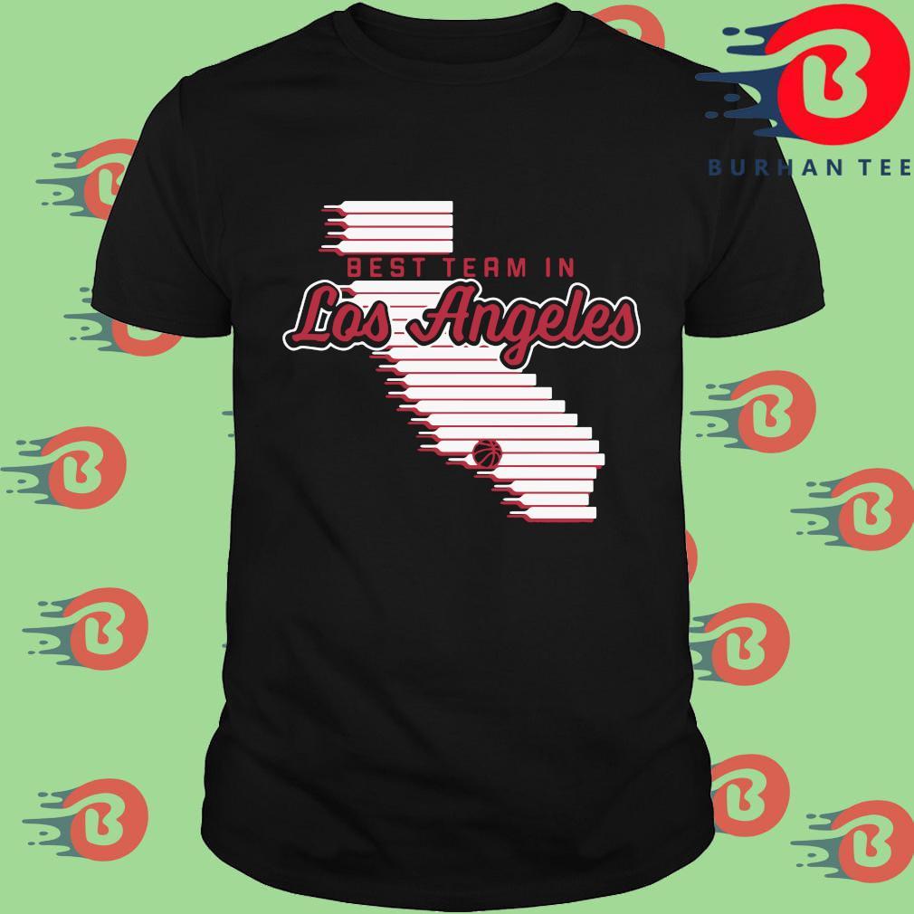 Best team in Los Angeles shirt