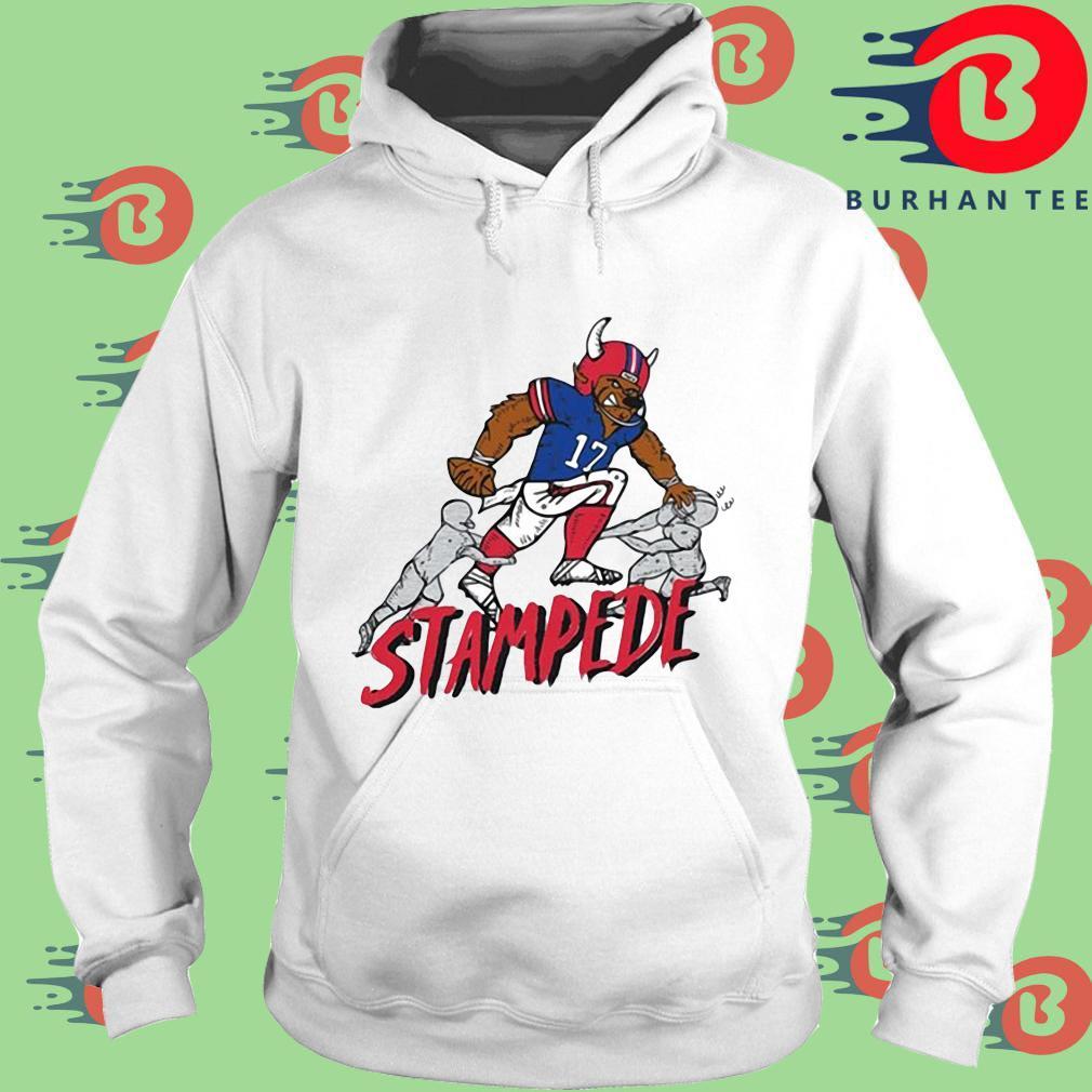 Buffalo Bills stampede 17 s trang Hoodie