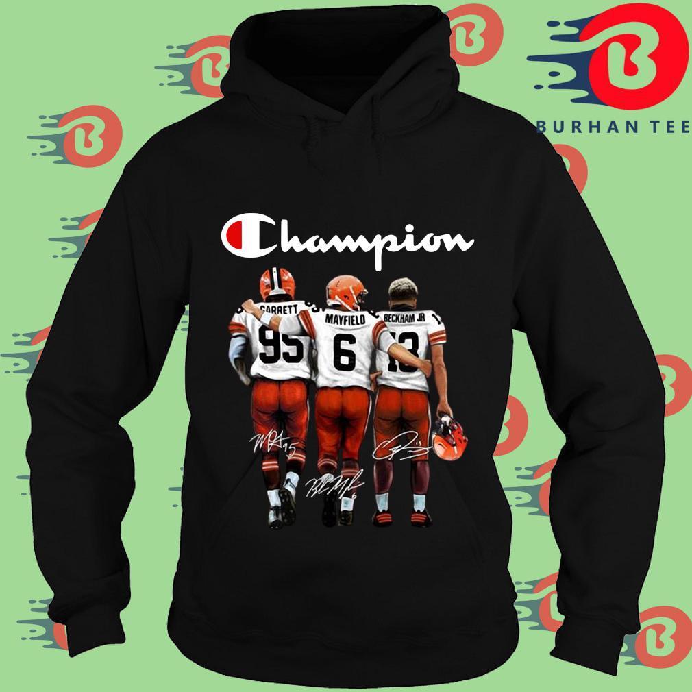 Cleveland Browns Champion Carrett Mayfield Beckham Jr sweats Hoodie