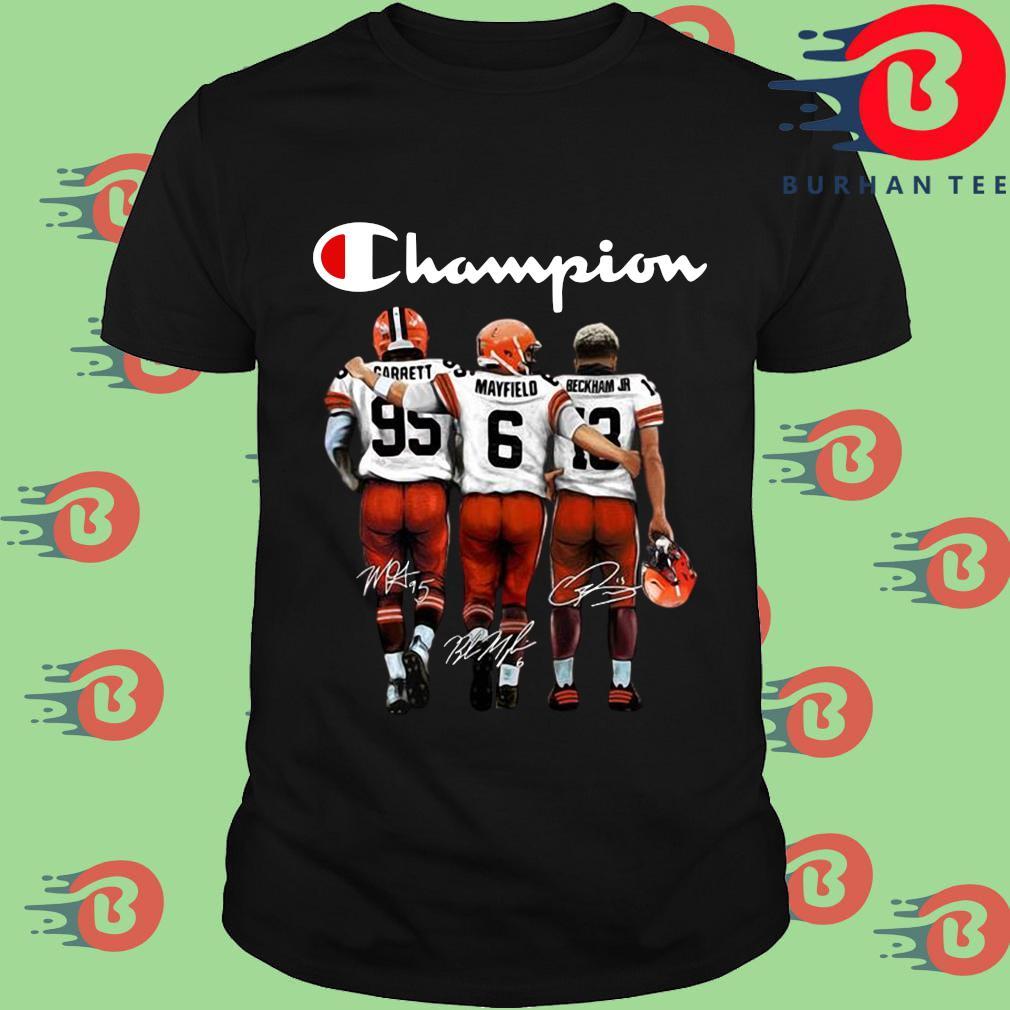 Cleveland Browns Champion Carrett Mayfield Beckham Jr sweatshirt