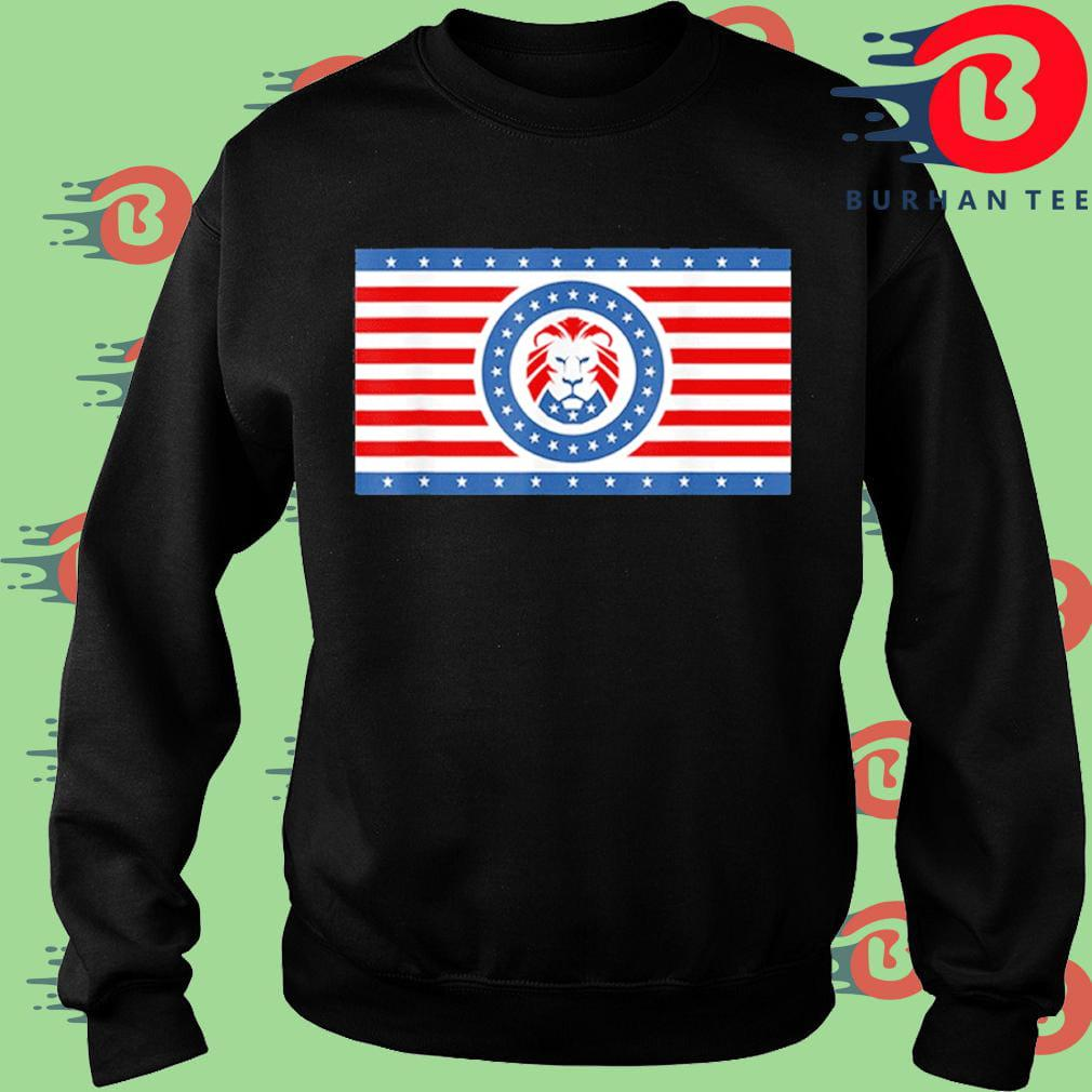Funny Maga Lion flag Patriot party flag s Sweater