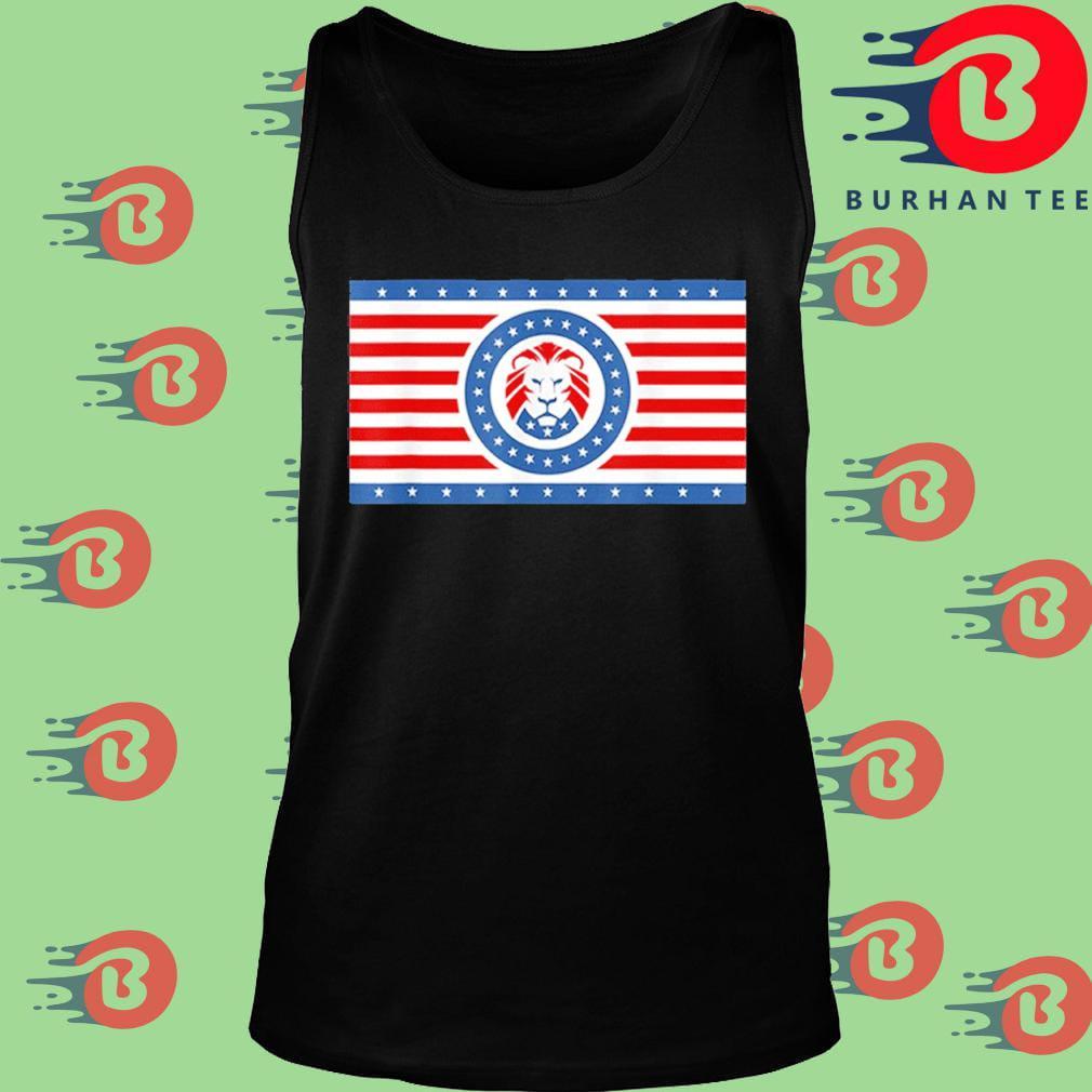 Funny Maga Lion flag Patriot party flag s Tank top