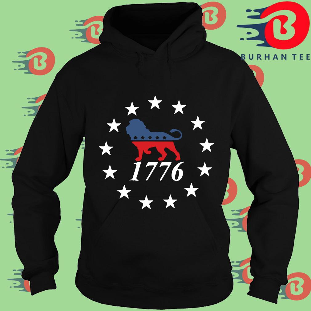 Lion the patriot party 1776 Sweats Hoodie
