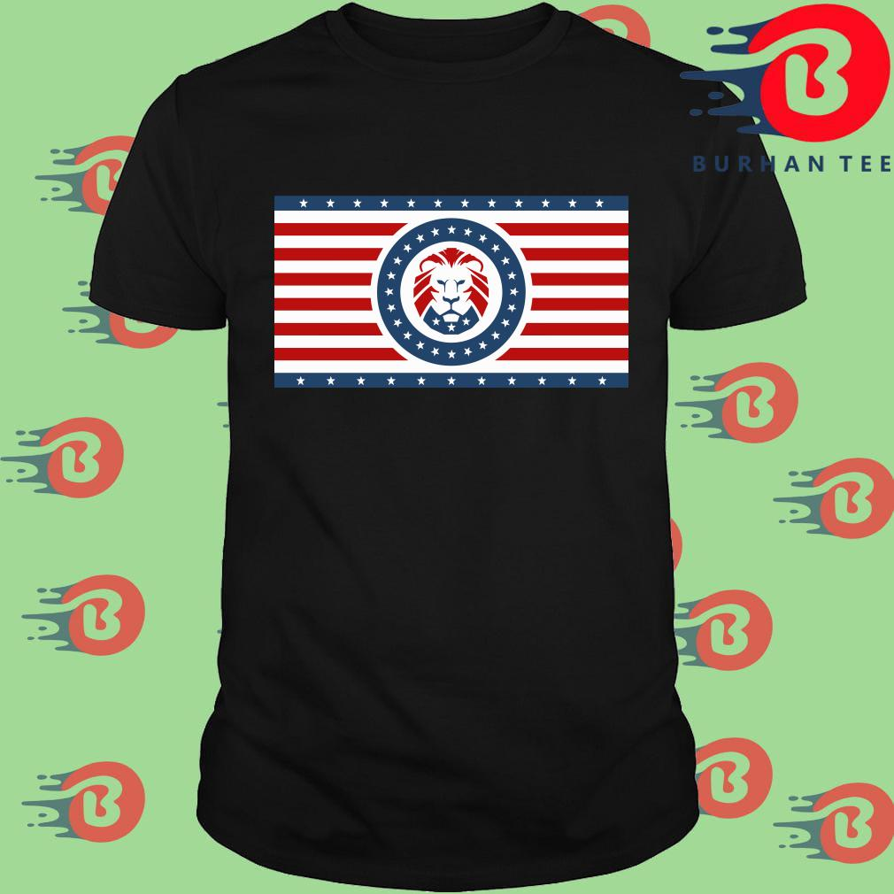 Maga Lion flag Patriot party flag shirt