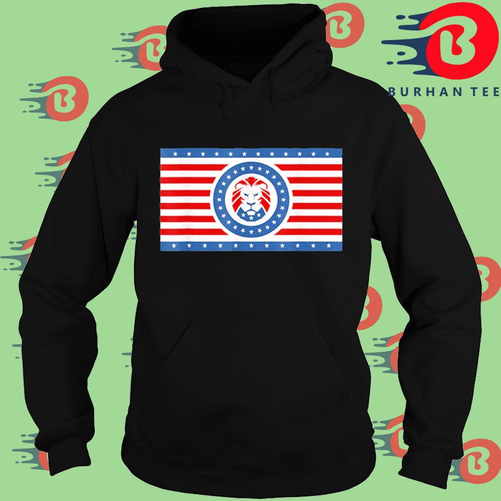 Maga Lion flag Patriot party flag t-s Hoodie
