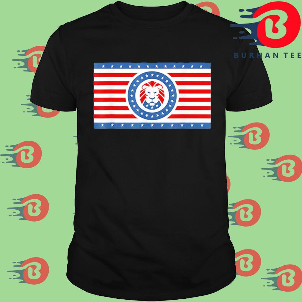 Maga Lion flag Patriot party flag t-shirt