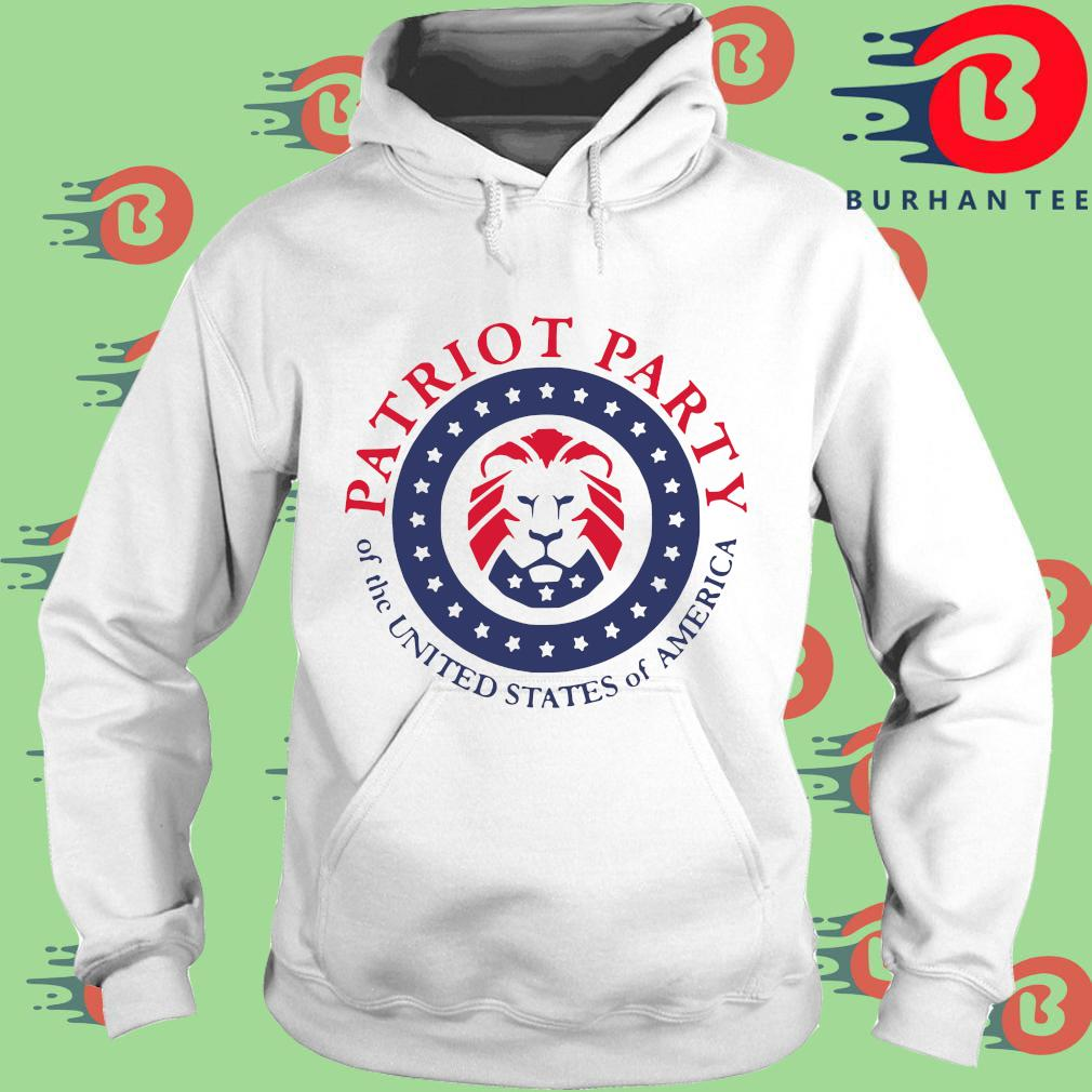 Official patriot party of the united states of America shirt, sweats trang Hoodie