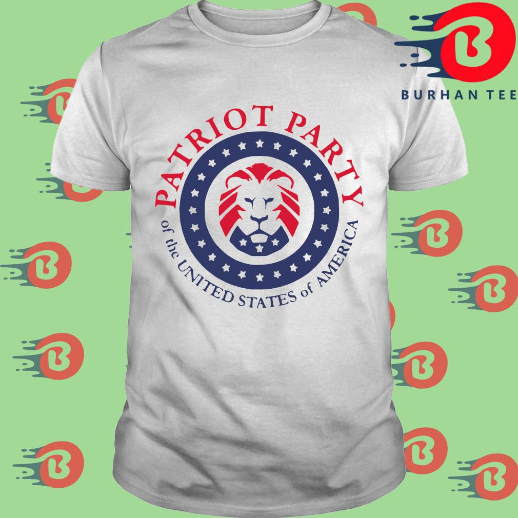 Official patriot party of the united states of America shirt, sweatshirt