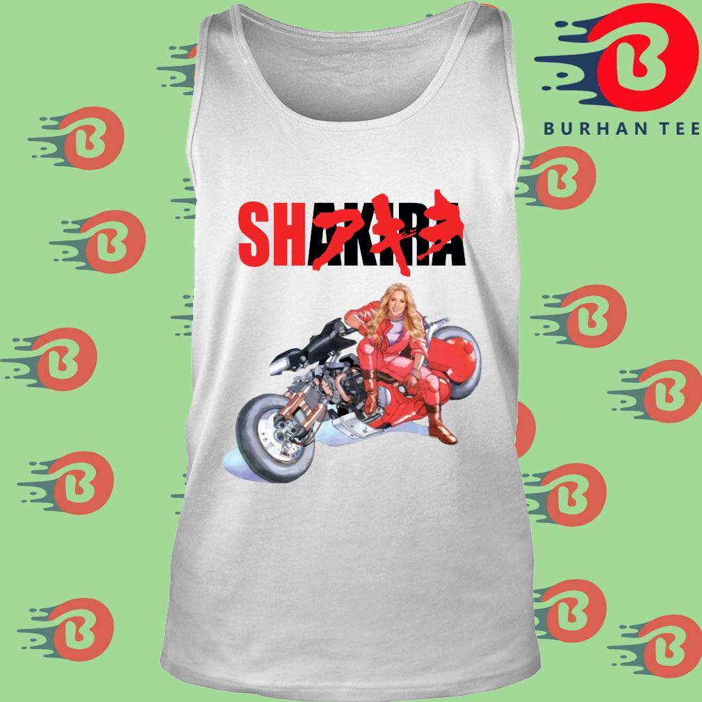 Shakira Akira tee s trang Tank top
