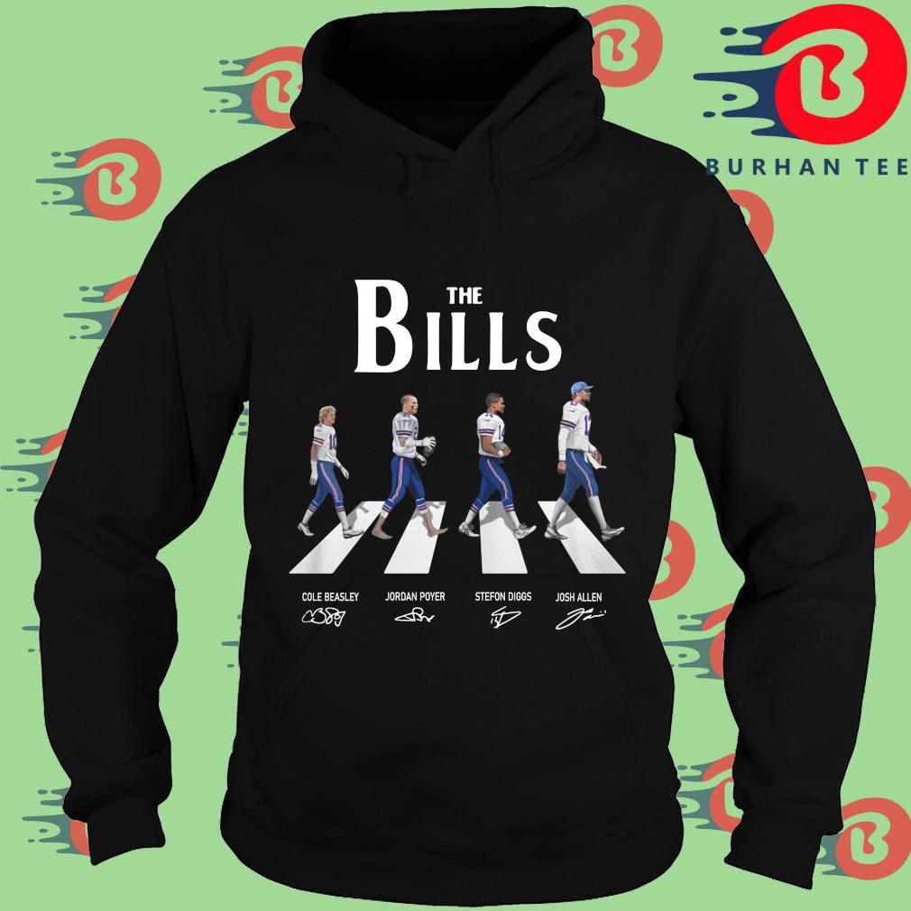 The Buffalo Bills Abbey Road Signatures Shirt Hoodie