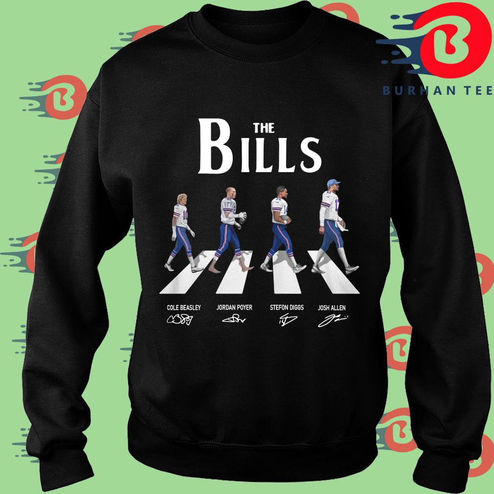 The Buffalo Bills Abbey Road Signatures Shirt Sweater