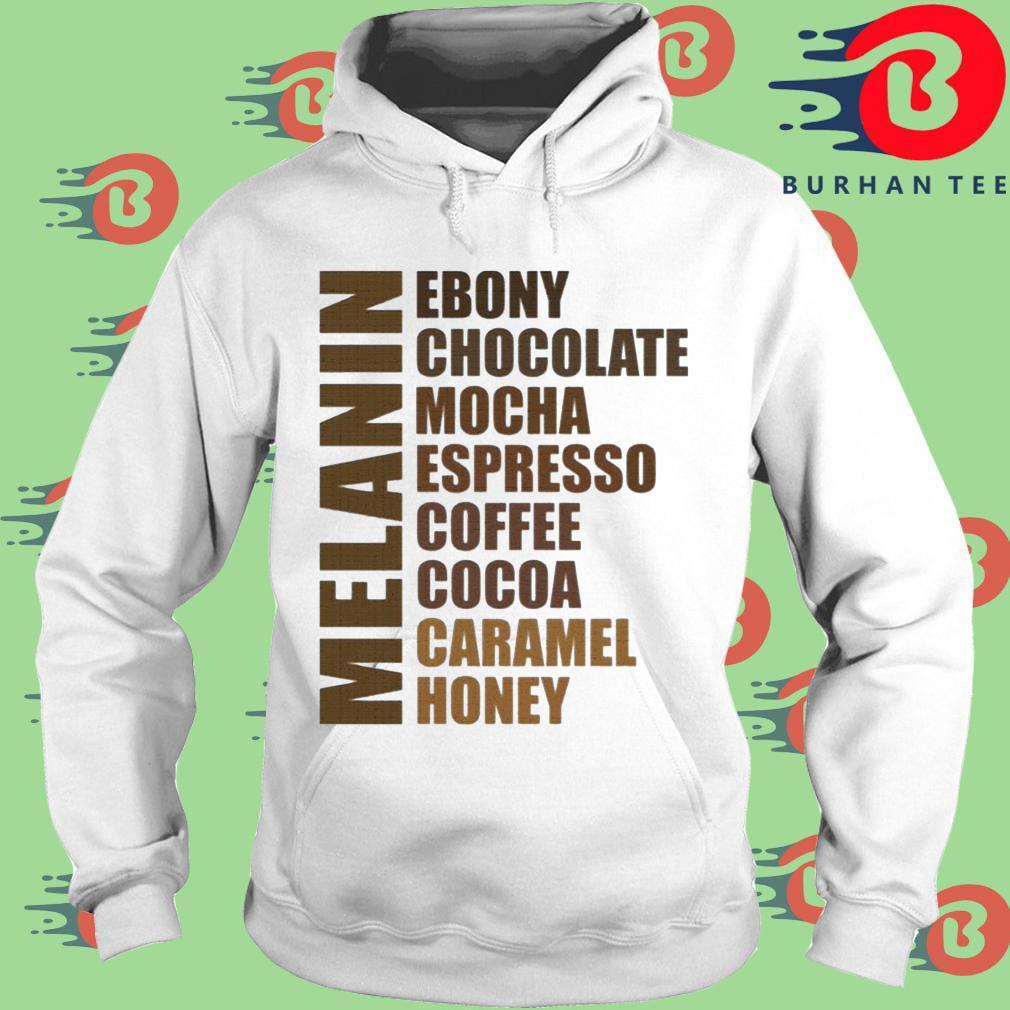 Melanin Black Queen African American Women Many Shades of Brown T-Shirt trang Hoodie