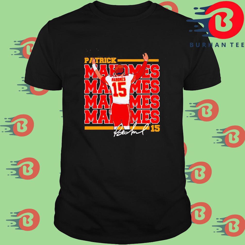 Patrick Mahomes Kansas City Chiefs Signature Shirt